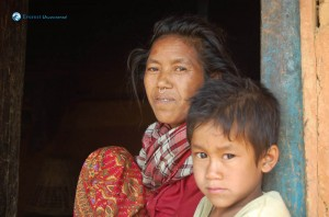 3. mom and child nepal