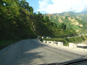 15. Big Trucks ferrying good in nepal highway