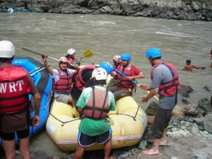30. this six seater was the best raft available