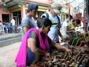 44. Hitesh and Bimal buying wooden Antiquities