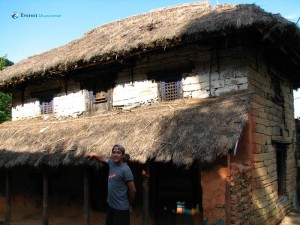 48. Hitesh Karki wishes for such a typical nepali home