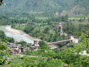 85. The Bridge connecting gorkha Manakamna with Tanahun district nepal