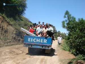 54. Nepalese Trucks are always fully loaded