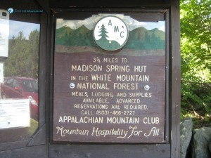 2. Appalachian Mountain Club Madison Spring Hut