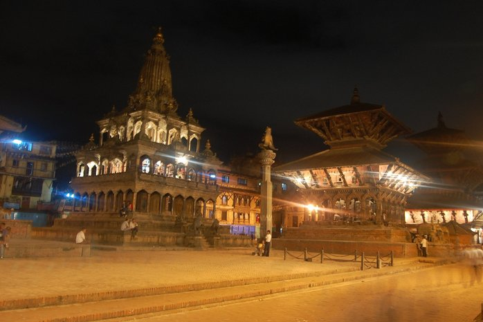 Patan Durbar Square and Krishna Mandir