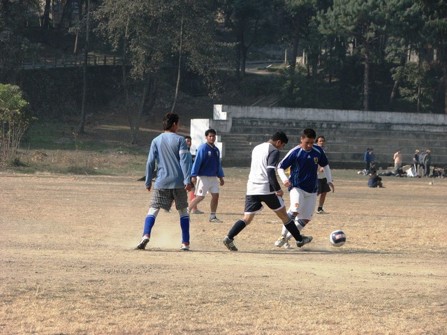 shankar delivering the killer pass which led on to D2's goal