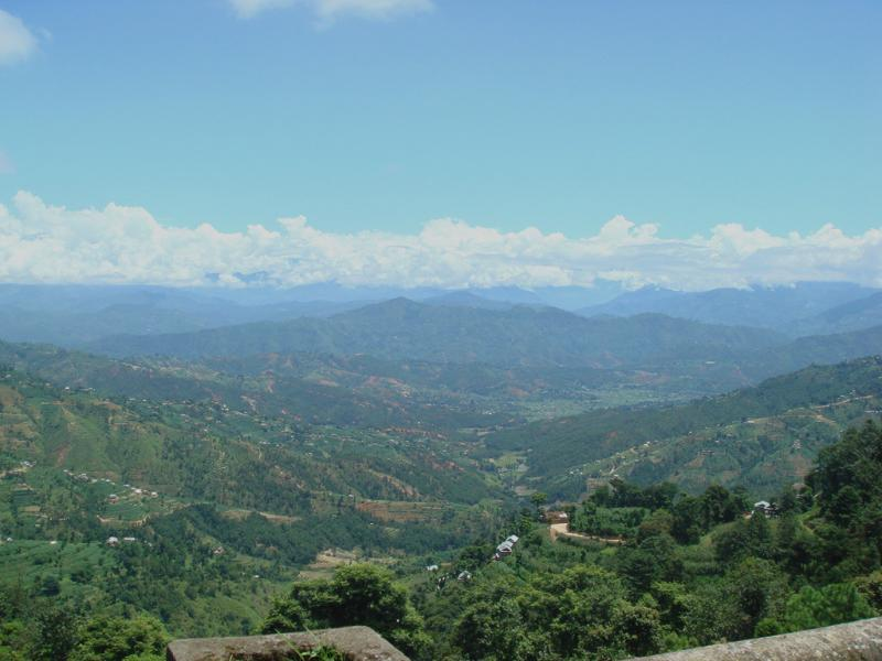 20 the other side of dhulikhel