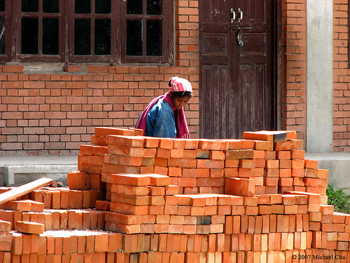 Working out Brick Piles