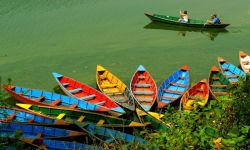 Fewa Lake Colors