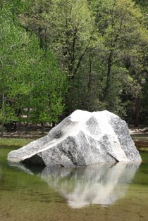 Mirror Lake Rock Reflection