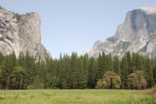 Washington Column Half Dome