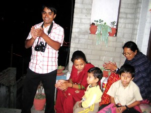 Nishchal dai and his family