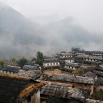 Ghandruk in a misty morning