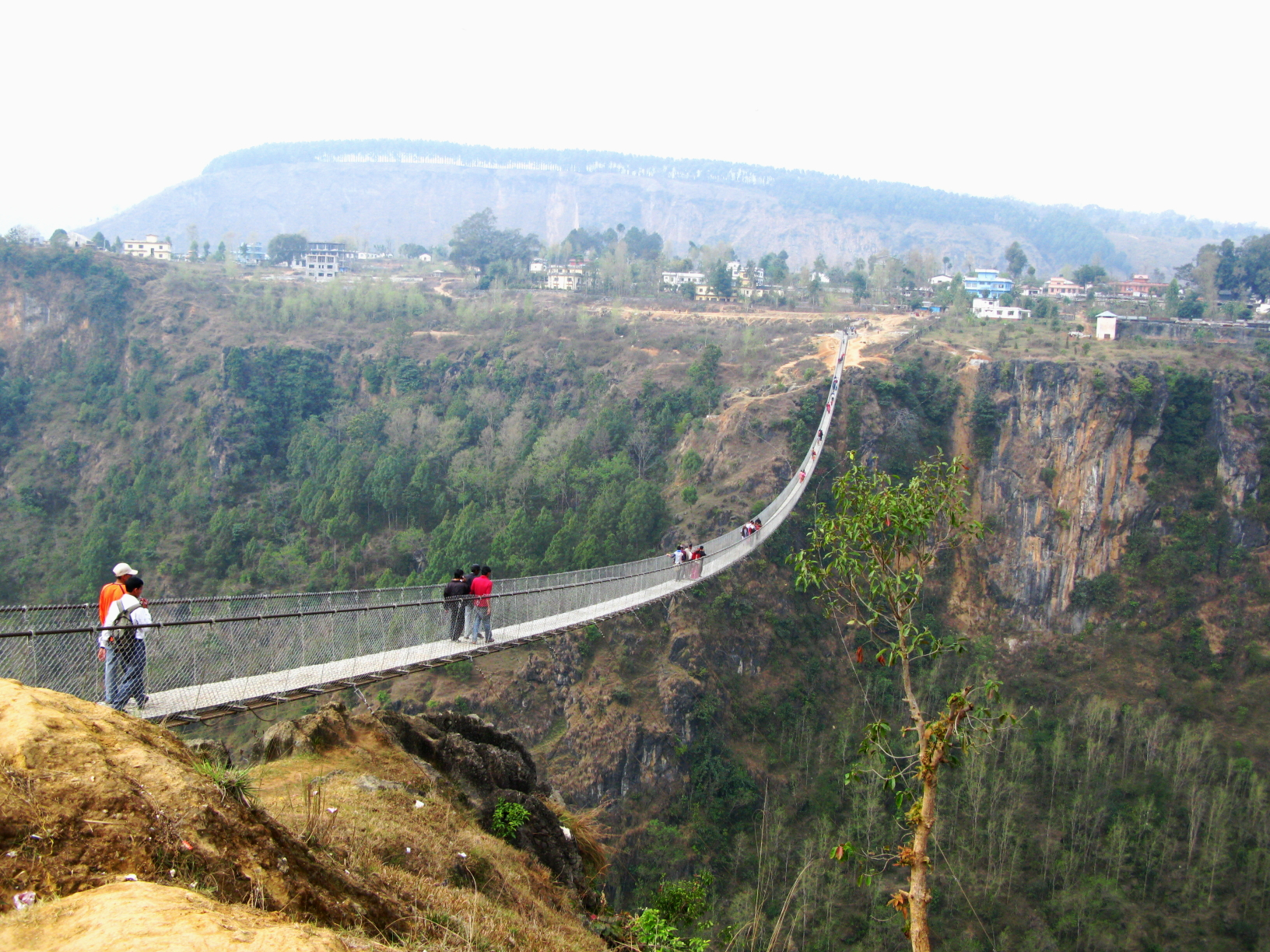 Kusma Nepal http://www.everestuncensored.org/10022/2010/03/11/tallest-suspension-bridge-in-nepal/