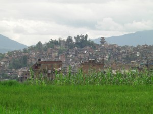 Kirtipur from Godam Chaur