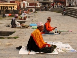 Pandits At Pashupatinath