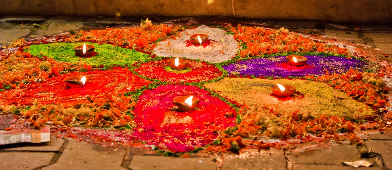 Celebration of Happy Tihar