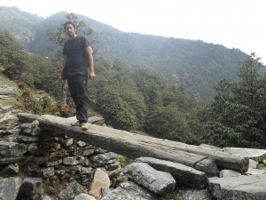 Nimesh, our resident adventurer