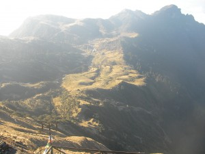 Kuri to Kalinchowk: a view from high up