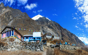 Panorama On The Way To Langtang