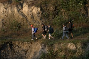 Deerwalk Inc Trekking team pushes ahead full of spirit vigor