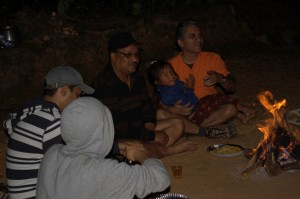The Campfire starts with Deerwalk Inc declaring the baby Dw baby who is lucky to be recognized name is Sadikshya Tamang