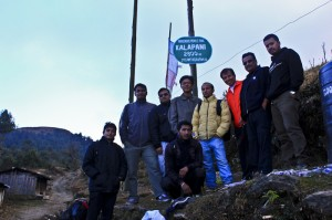 Sailung hiking team