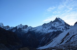Machhapuchhre View from ABC