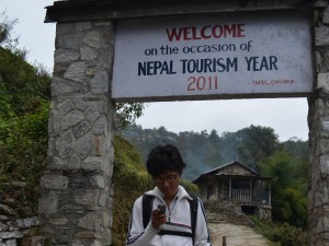 Twitting From Ghandruk
