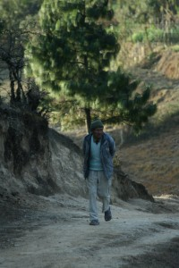 13. Nepali Grandpa along the Chisapani Trail through the jungles