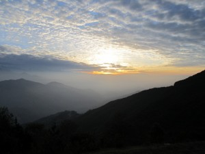 16. Exquisite Sunrise and mountain terrains and the blissful Sky