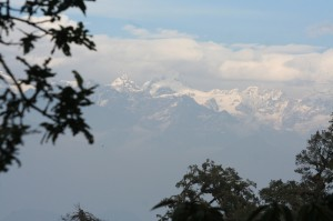 25. Mountain Range View from Chispani Nepal