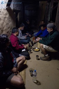 28. at 9 we reached Baglung pani and lucky that we got a place to rest for the night