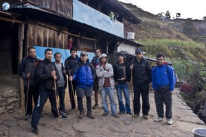 30. Nawaraj Gurung with his friend in the picture were the boys who gave is the shelter, a big thanks to them