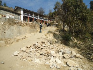 39. Modern construction around and inside Shivapuri National Park threatning the Nature wildlife