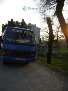 46. Locals in Tourist Bus