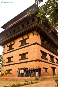 46. At Nuwakot Sat talley Durbar