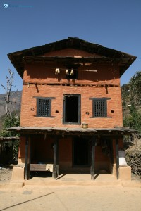 66. Traditional Nepali House