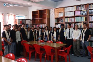 24 Group photo in library