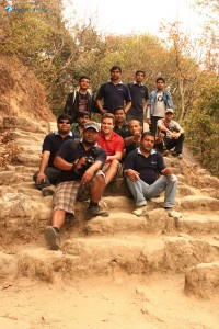 35. Group photo at shivapuri national park