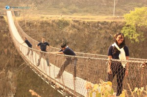 45 Fun on Gandaki bridge