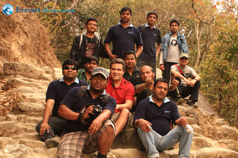 Sundarijal Group Photo
