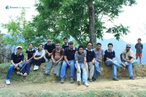 17. Hiking Team with new member