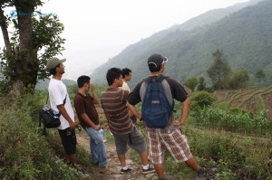 11. The Gang stops to enjoy the view