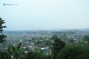 13. View from height