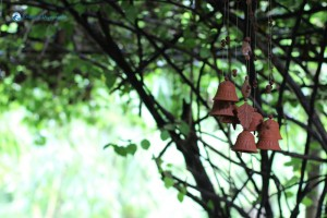 37. Inspirational wind chimes