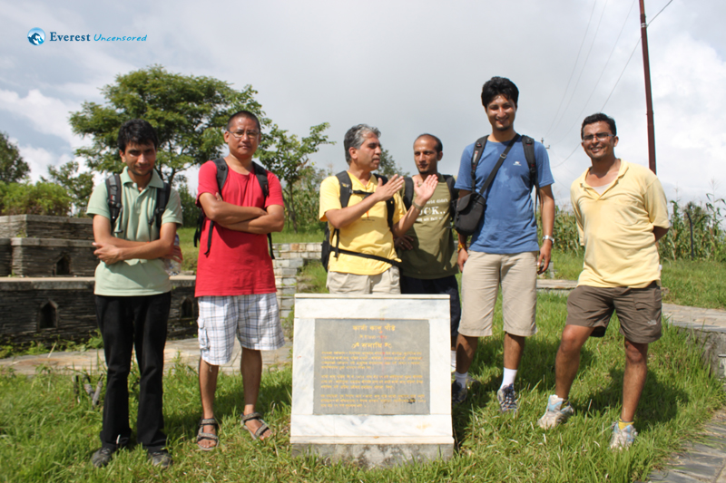 Hiking from Ramkot to Kaji Kalu Pandey Park