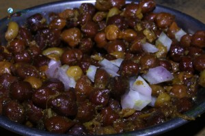 03. Chana and onions, lovely yummy
