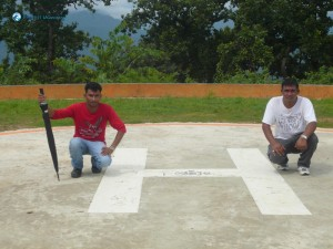26. H for Helipad