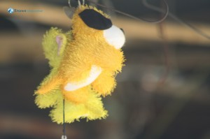 28. Doll hanging and swinging